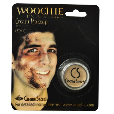 Carded Gray Dead Mask Cover Halloween - Halloween Makeup Masks