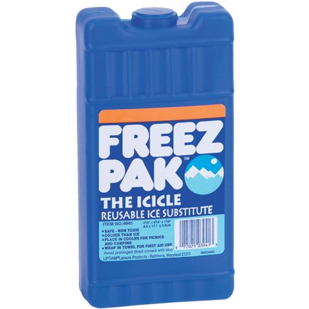 Freez Pak™ Icicle Resuable Ice (Best Freezer Packs For Coolers)