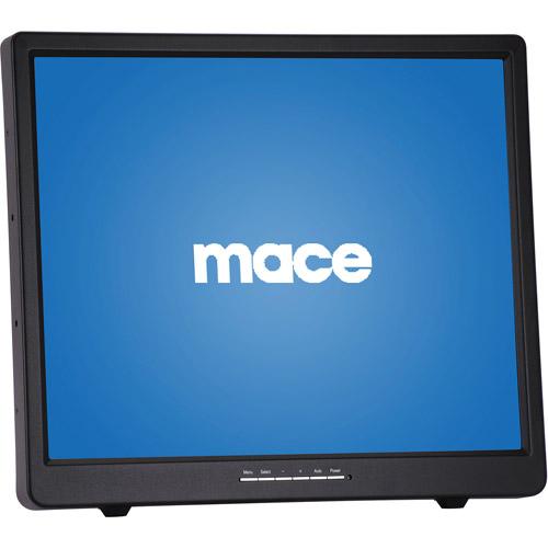 "Mace MAC-MON-19LED 19"" LED CCTV Security Surveillance Monitor"