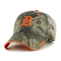 Fan Favorite MLB Mossy Oak Adjustable Hat, Detroit Tigers
