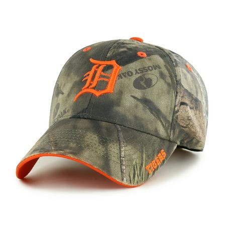 Fan Favorite MLB Mossy Oak Adjustable Hat, Detroit
