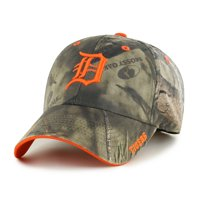 cheaper fa682 9ad73 Product Image Fan Favorite MLB Mossy Oak Adjustable Hat, Detroit Tigers