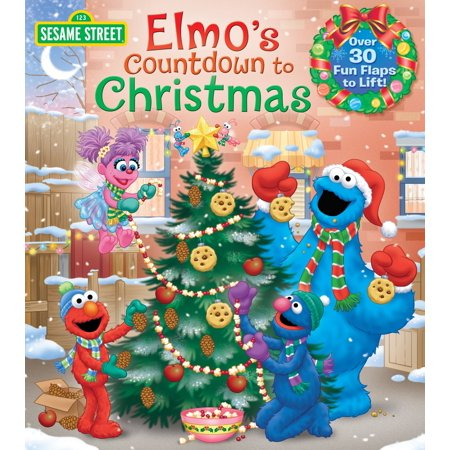 Elmo's Countdown to Christmas (Sesame Street) (Board Book) (Christmas Day Countdown)