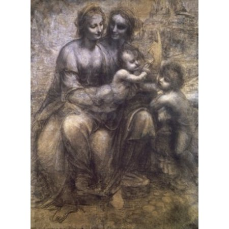 Virgin and Child with St Anne and Infant St John the Baptist...