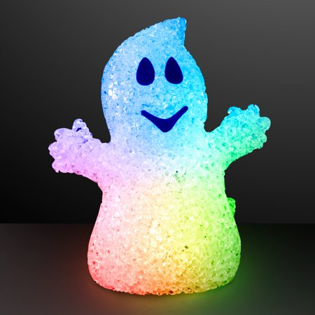 FlashingBlinkyLights Soft Glow Halloween Ghosts with Color Change LEDs - Happy Halloween Lied