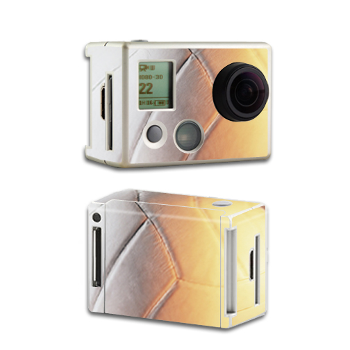 Mightyskins Protective Vinyl Skin Decal Cover for GoPro HD Hero2 Camera Digital Camcorder wrap sticker skins Volleyball