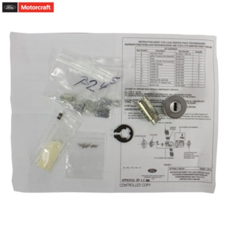 Motorcraft Original Equipment (O.E.) Lock Assembly - Steering and Ignition Ignition Cable Assembly