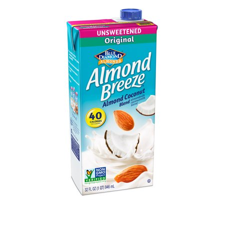 Almond Breeze Almond Milk Coconut Blend, Unsweetened Original, 32 fl