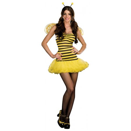 Honey Bee Adult Costume - Medium (Adult Bee Costume)