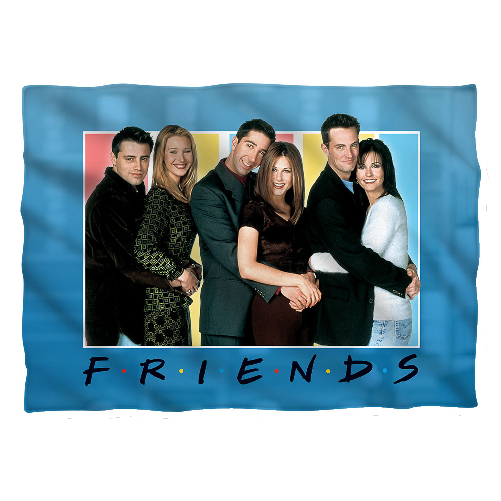 Friends Skyline Poly 20X28 Pillow Case White One Size