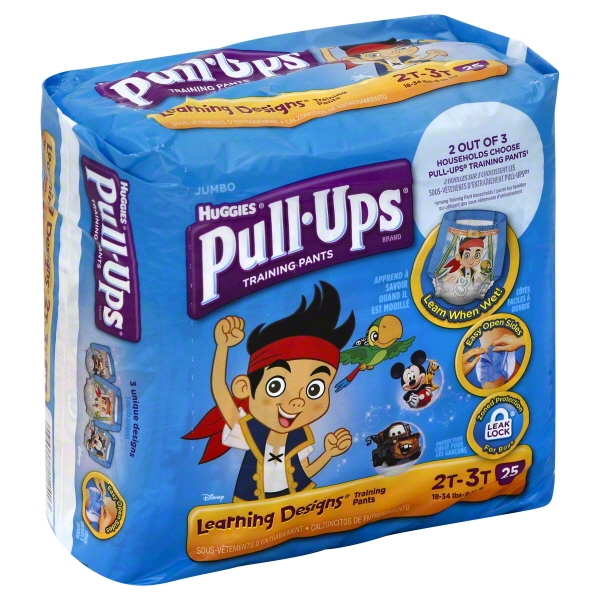 Pull-Ups? Training Pants with Learning Designs? for Boys 2T-3T