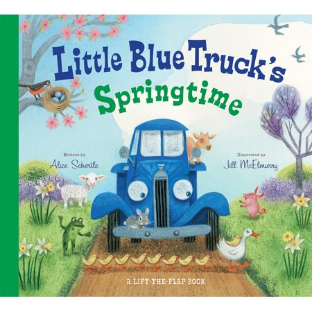 Little Blue Trucks Springtime (Board Book)