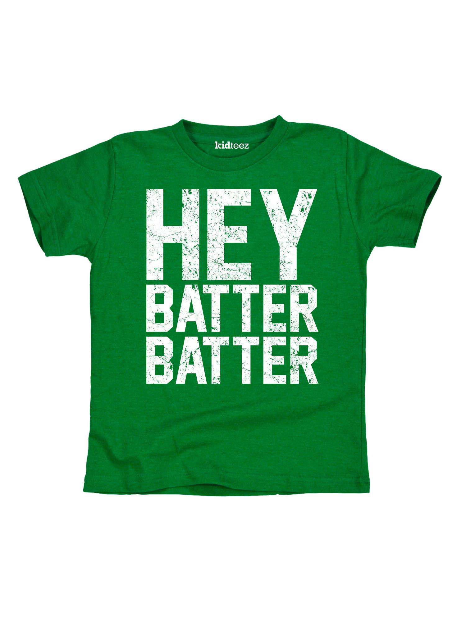 Hey Batter Batter Funny Toddler Tshirt