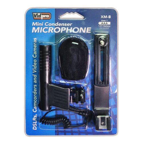 JVC GZ-E10 Camcorder External Microphone by VidPro