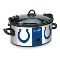 Crock-Pot 6 Quart NFL Colts Cook & Carry Slow Cooker