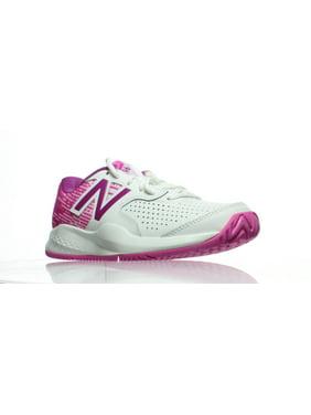 White New Balance Womens Athletic Shoes