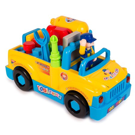 Take Apart Tool Truck by ToyThrill