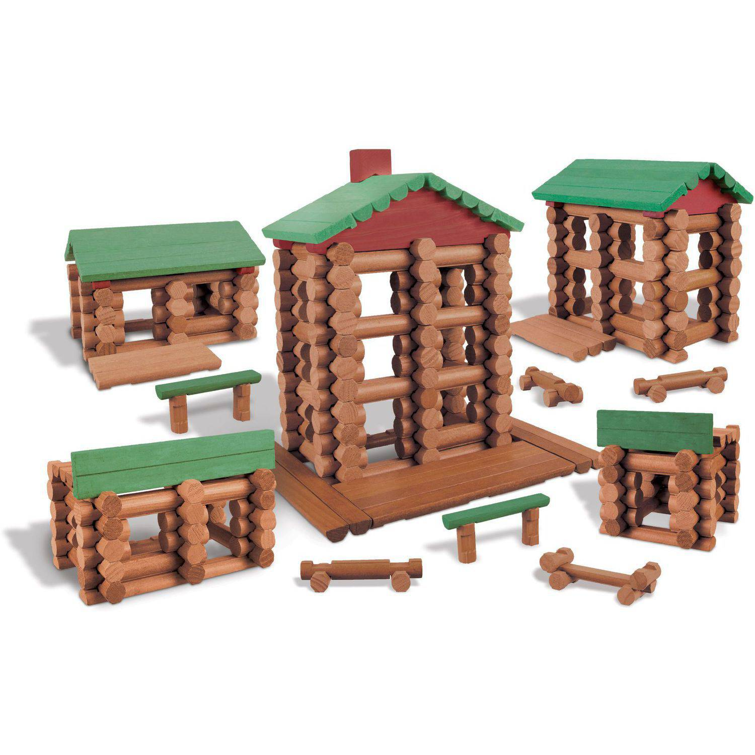 Lincoln Logs Collector's Edition Village
