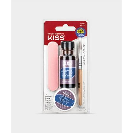 KISS Salon Acrylic Nude Nails, Breathtaking (Best Acrylic Nail Products)