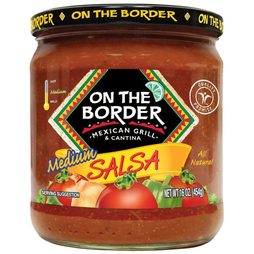 On The Border Original Medium Salsa, 16-Ounce