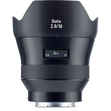 Zeiss 18mm f/2.8 Batis Lens - Sony FE Mount (Best Zeiss Lenses For Sony A7)