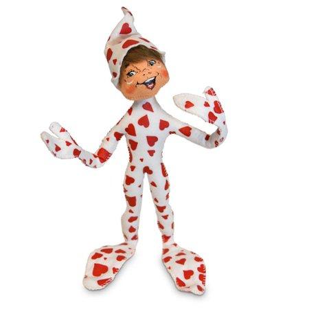 Elf Stuffed Animal (Annalee Dolls 2019 Valentine 12in Heartfelt Elf Plush New with)