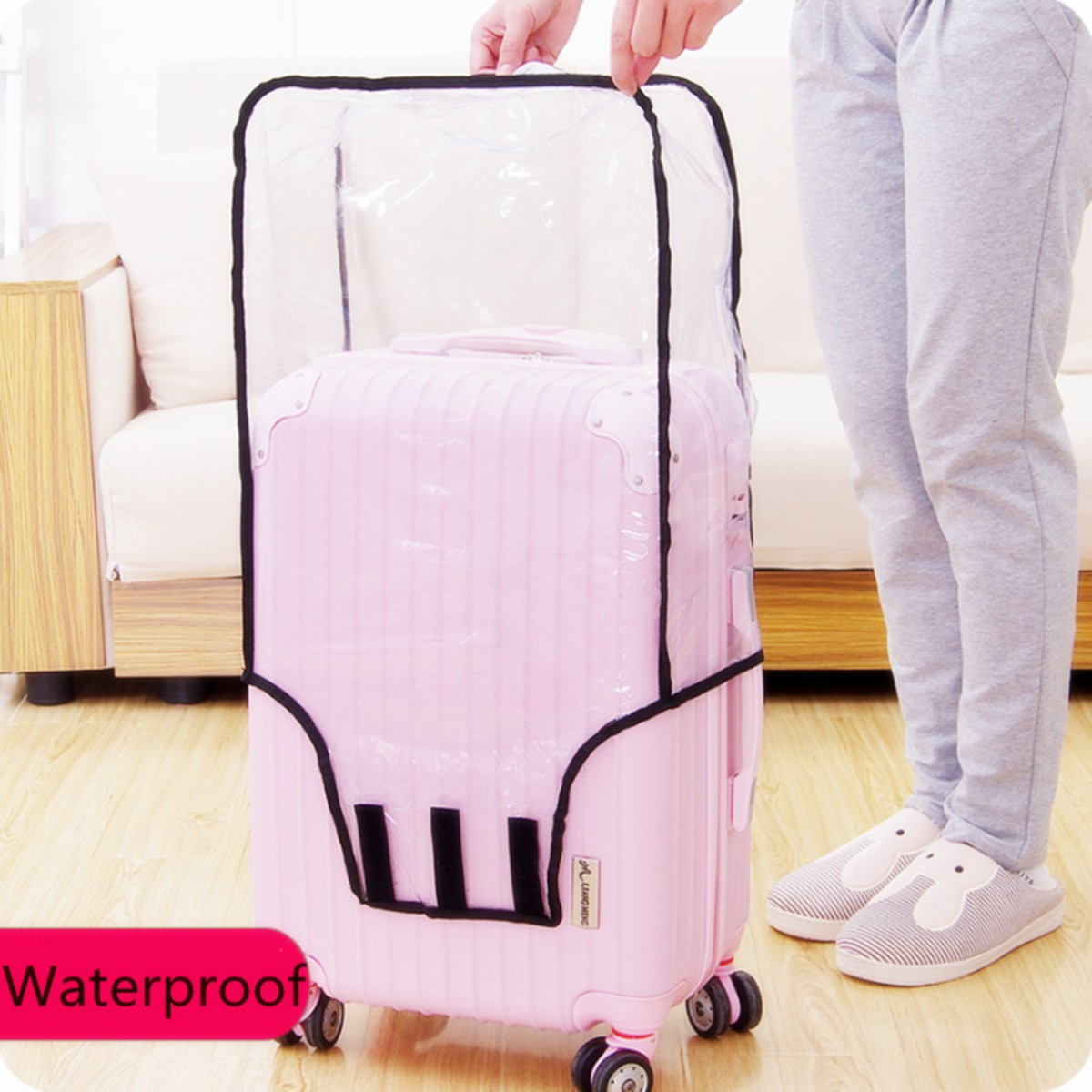 GIVE ME BAG Generic Ball 3D Printed Waterproof Luggage Cover Spandex Suitcase Cover