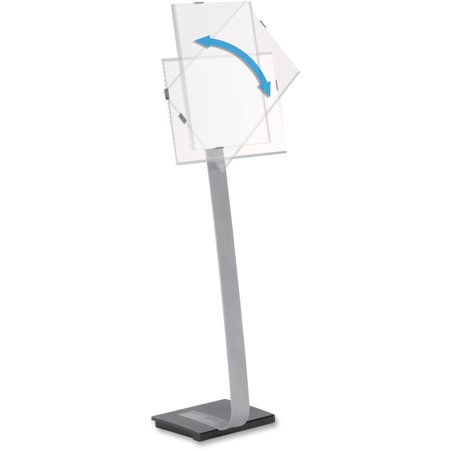 DURABLE, DBL481523, Info Sign Floor Stand, 1 Each, Gray,Black