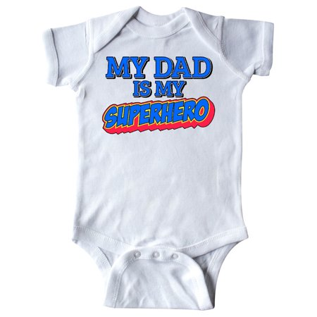 My Dad is My Superhero Infant Creeper ()
