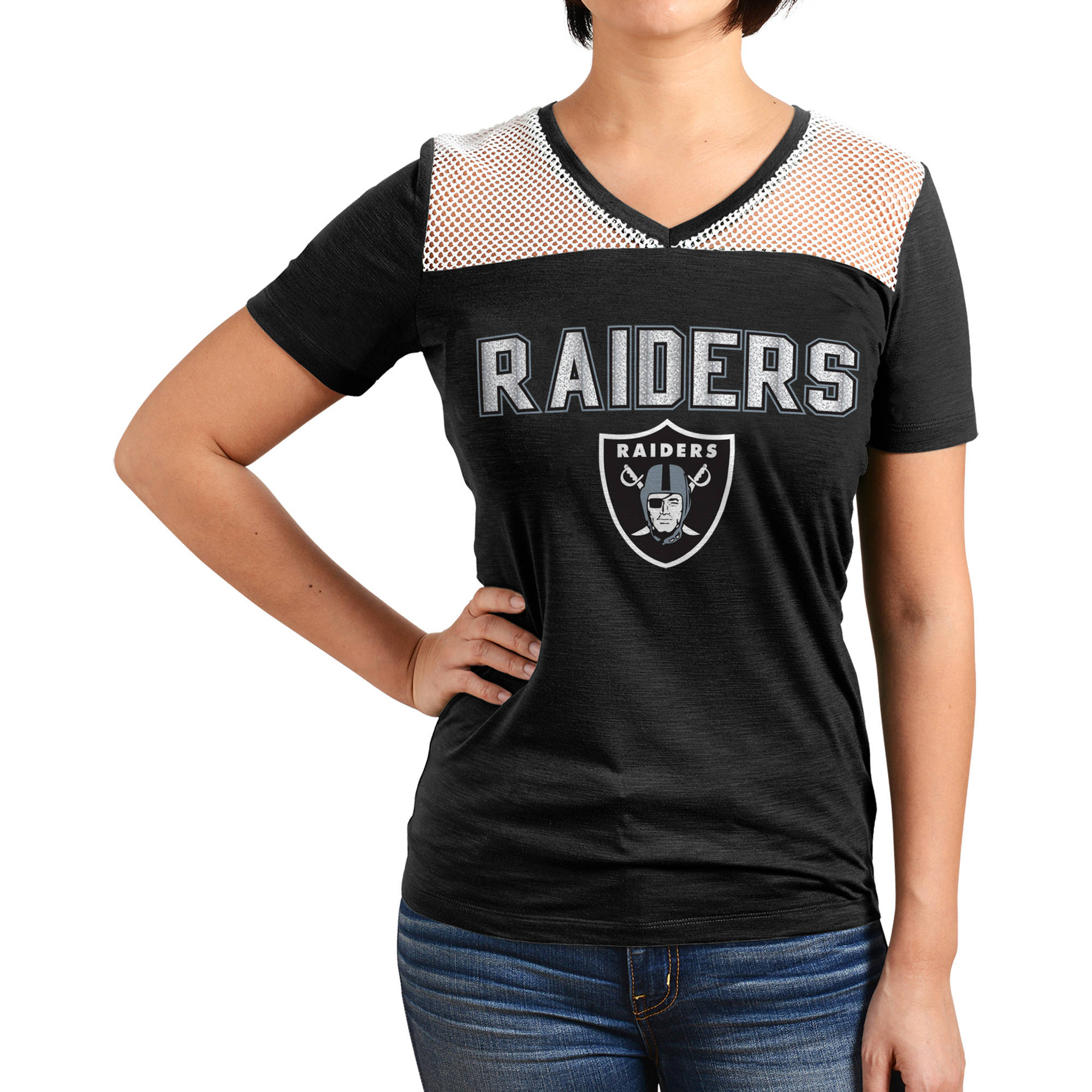 NFL Oakland Raiders Juniors Graphic Tee