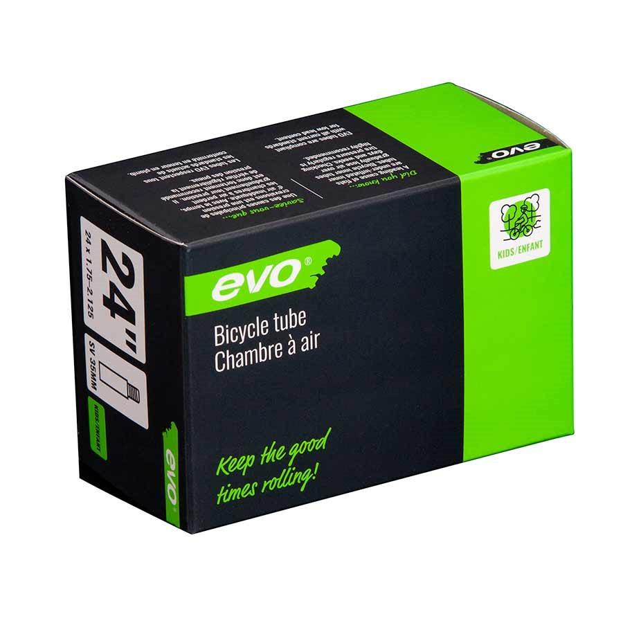 Evo Bicycle Tube - Schrader, 35mm, 24', 1.75-2.125 - 14EV.020176-09