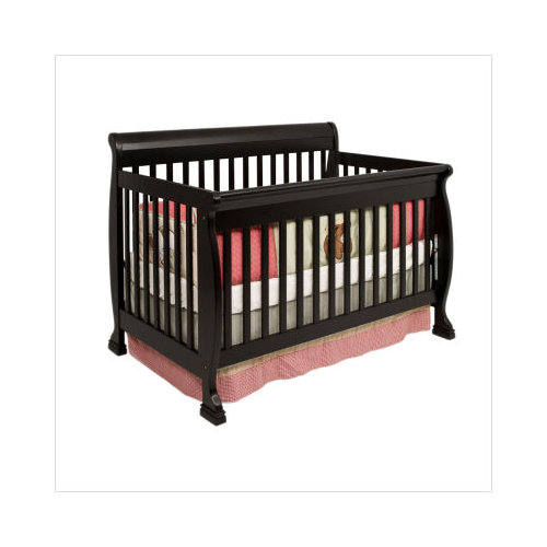 Baby Mod - Cadence 4-in-1 Convertible Crib, Ebony