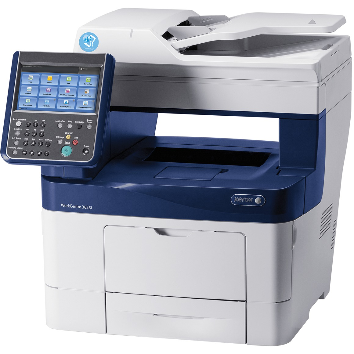 Xerox WorkCentre 3655IX Mono Laser Multifunction Printer/Copier/Scanner/Fax  Machine
