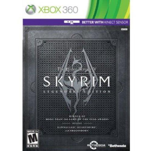 Skyrim Legendary Edition (Xbox 360)