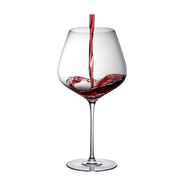 Grace 95 Burgundy 33 Oz Crystal Red Wine Glass Set Of 2 Walmart Com Walmart Com