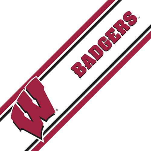 Wisconsin Peel and Stick Wallpaper Border