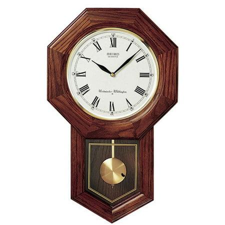 Seiko Schoolhouse Pendulum Wall Clock Walmart Com