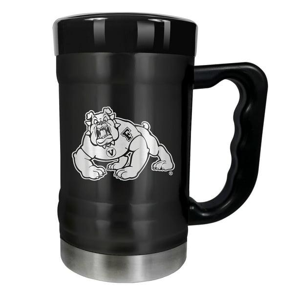Fresno State Bulldogs 16 oz Stainless Steel Coffee Mug with handle