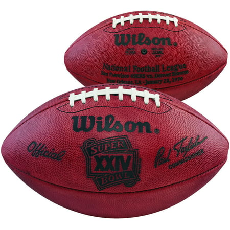 Super Bowl XXIV Wilson Official Game Football