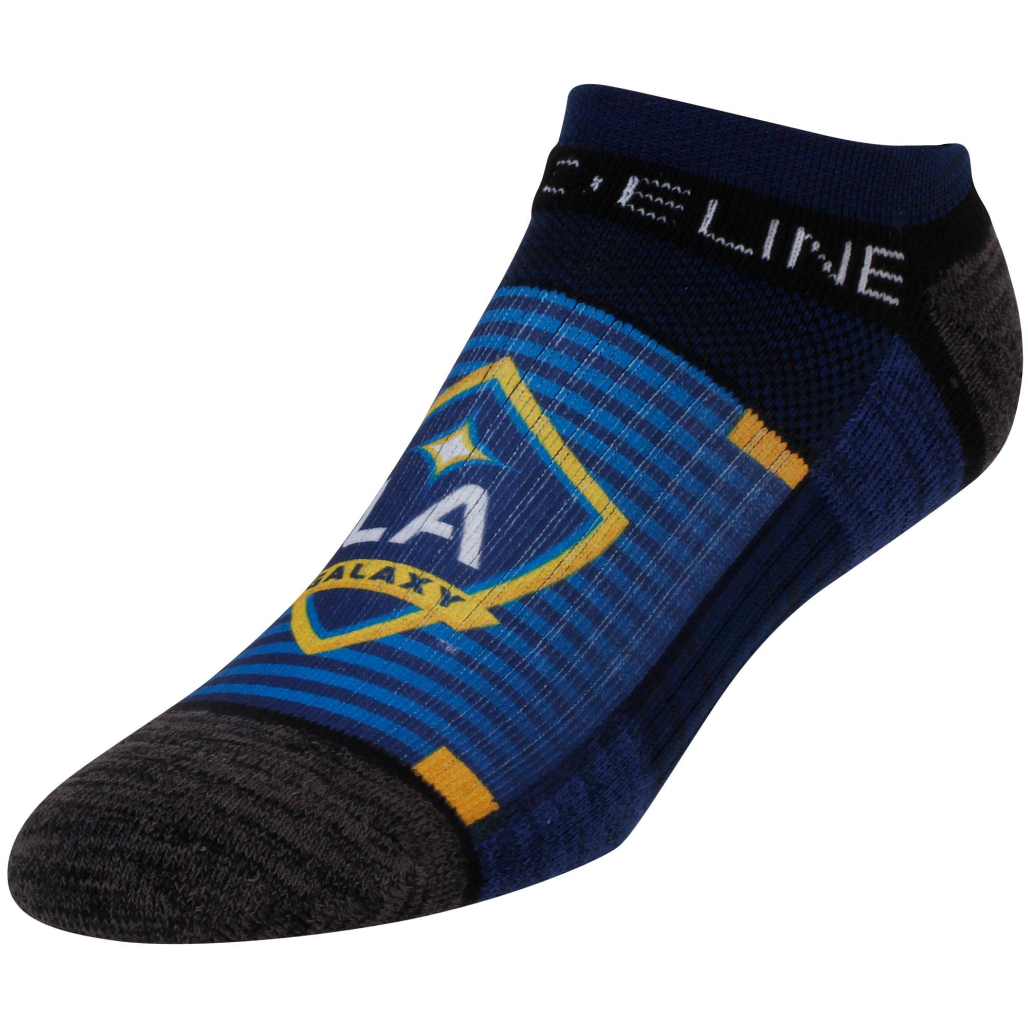 LA Galaxy No Show Ankle Socks - Navy - OSFA