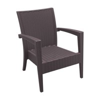 Siesta ISP850 Miami Resin Club Chair - Set of 2