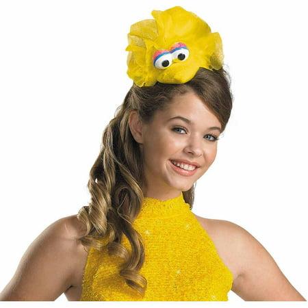 Sesame Street Big Bird Headband Adult Halloween Costume Accessory - Halloween Spider Headband