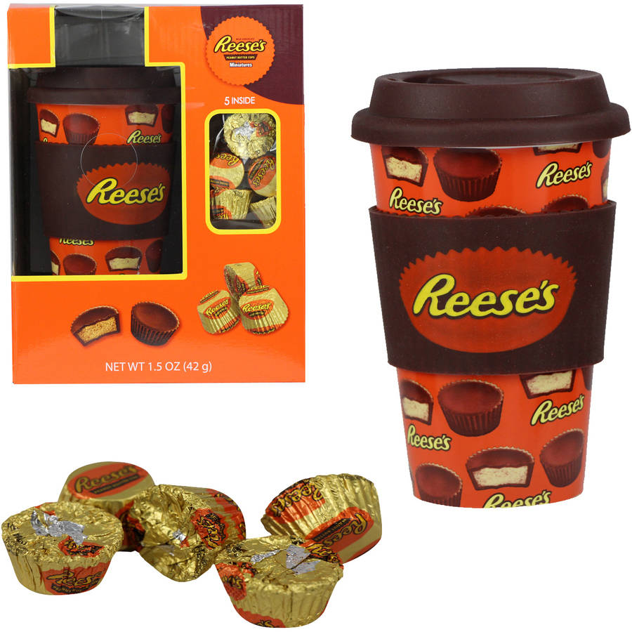 Hershey's Travel Mug with Reese's Holiday Gift Set, 2 pc