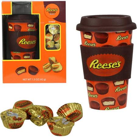 Reeses Travel Mug And Candy Gift Set 2 Piece Walmartcom