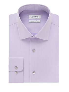 Big-Fit Solid Dress Shirt