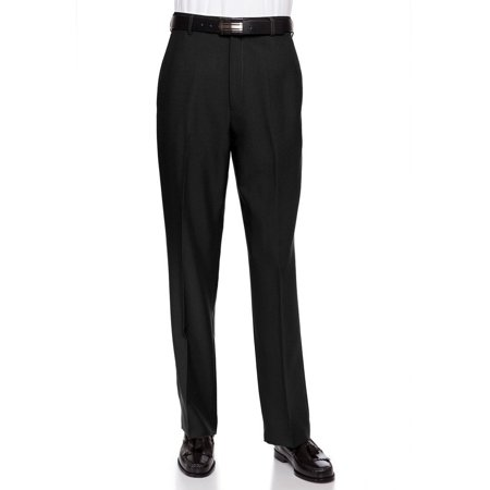 - Sportoli Mens Long Cool Classic Fit Flat Front Non-Iron Dress Pant Slacks