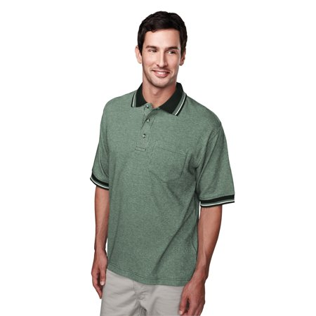 Tri Mountain Prodigy 330 Yarn Dye Pocketed Golf Shirt  2X Large  Forest Green