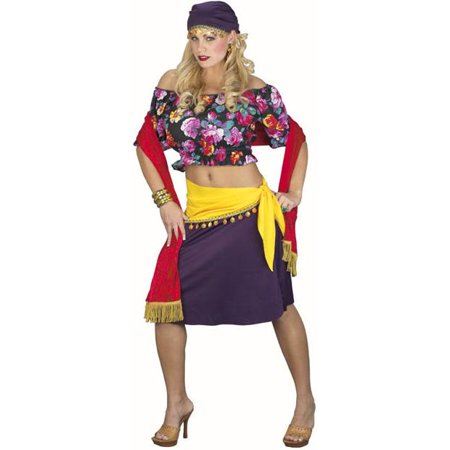 Classic Adult Gypsy Costume - Gypsy Woman Costume