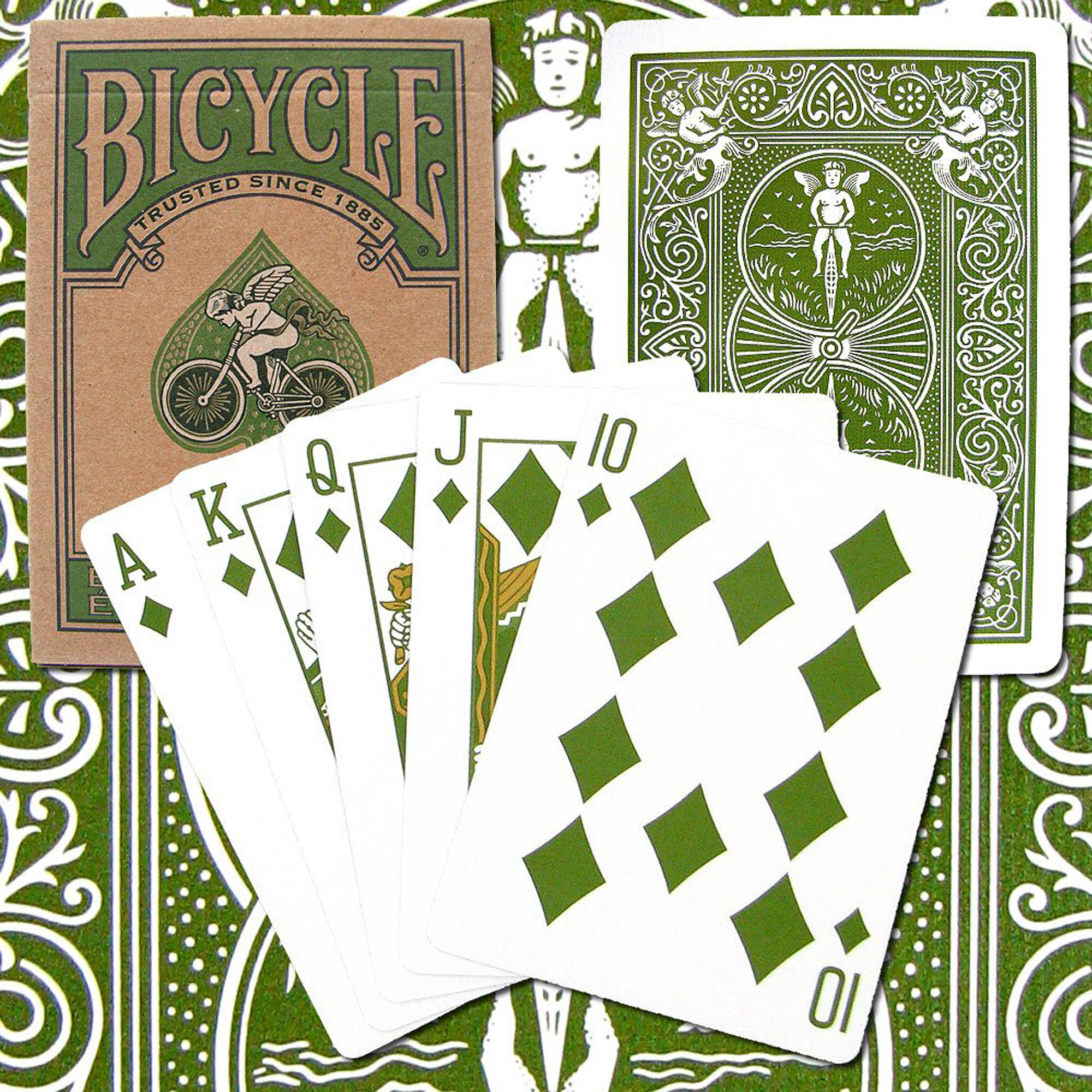 Bicycle Poker Playing Cards, Eco Edition