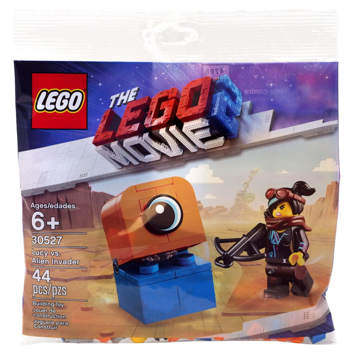 The LEGO Movie 2 Lucy vs. Alien Invader Set LEGO 30527